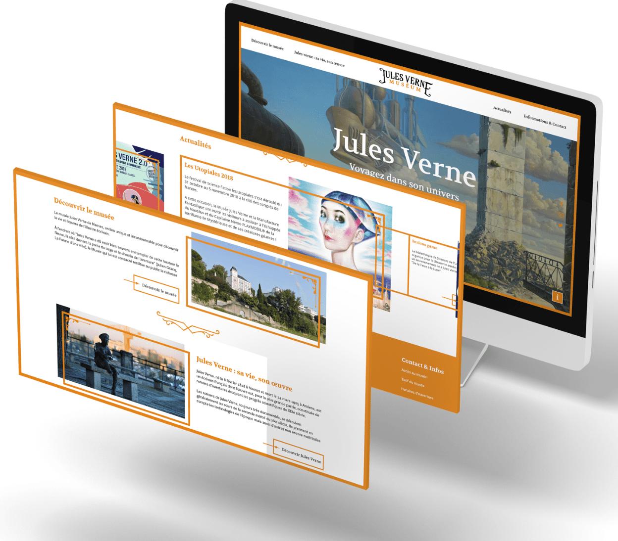 Musée Jules Verne 7 - Arnaud Le Roux - Directeur Artistique Digital & Développeur Front-End