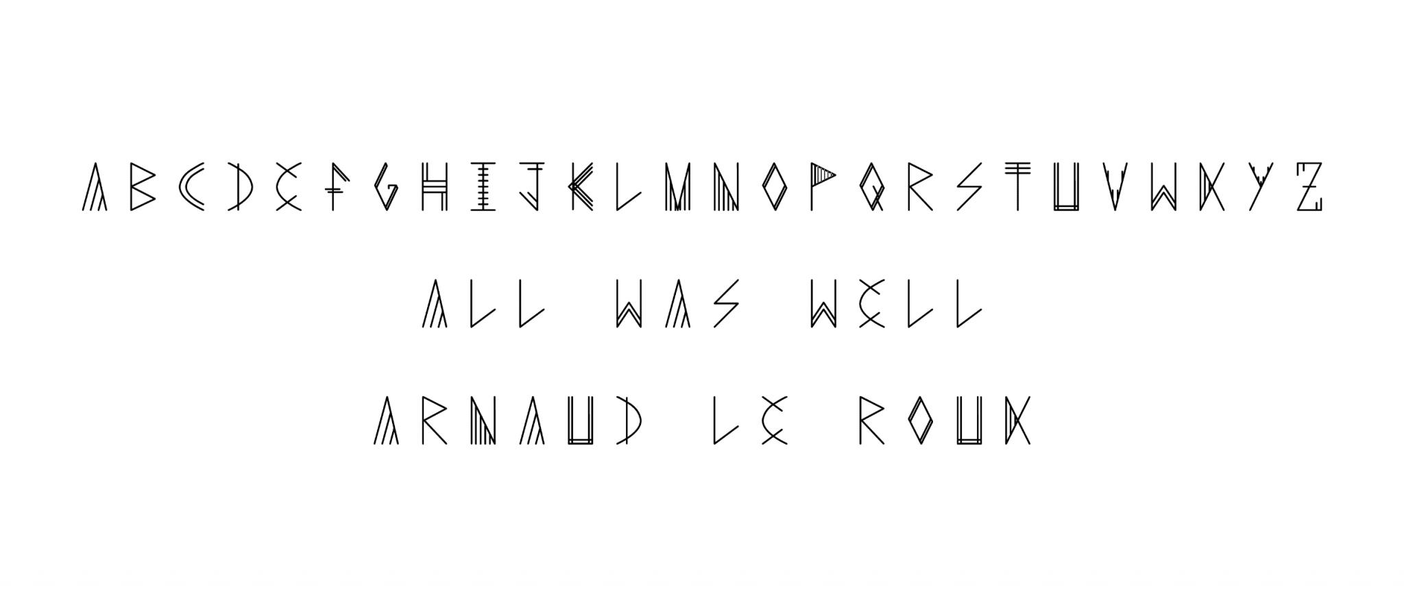 Typographie ALR 3 - Arnaud Le Roux - Directeur Artistique Digital & Développeur Front-End